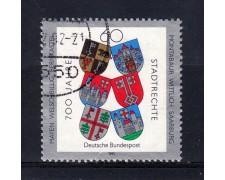 1991 - GERMANIA FEDERALE - 60p. CENTENARIO DELLE CITTA' - LOTTO/31243U