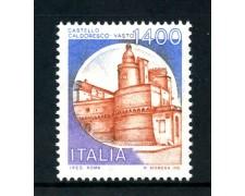 1983 - LOTTO/6796 - REPUBBLICA - CASTELLO DI VASTO - NUOVO