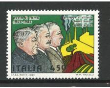 1984 - LOTTO/6811 - REPUBBLICA - PATTO DI ROMA - NUOVO