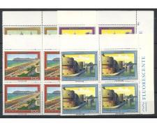 1983 - LOTTO/6797Q - REPUBBLICA - TURISTICA 10° SERIE 4v. - QUARTINE NUOVI