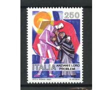 1985 - LOTTO/6824 - REPUBBLICA - GLI ANZIANI - NUOVO