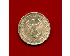 1936 - GERMANIA - 5 MARCHI HINDENBURG ARGENTO - ZECCA A - LOTTO/M30490