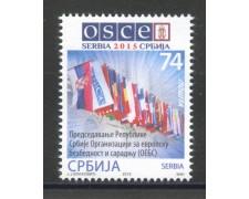 2015 - SERBIA REPUBBLICA - PRESIDENZA OCSE - NUOVO - LOTTO/35280