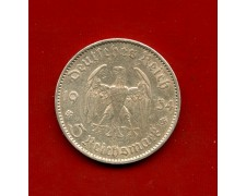 1934 - GERMANIA - 5 MARCHI ANNIVERSARIO  ARGENTO - ZECCA  A - LOTTO/M30495