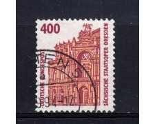 1991 - GERMANIA FEDERALE - 400p. MONUMENTI CELEBRI - USATO - LOTTO/31256U