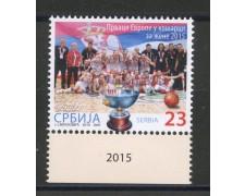 2015 - SERBIA REPUBBLICA - BASKET FEMMINILE - NUOVO - LOTTO/35284