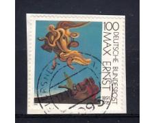 1991 - GERMANIA FEDERALE - 100p. MAX ERNST - USATO - LOTTO/31257U