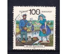 1991 - GERMANIA FEDERALE - GIORNATA FRANCOBOLLO - USATO - LOTTO/31258U