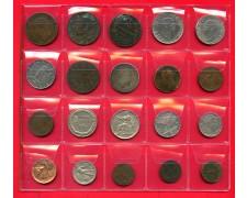 1861/1940 - REGNO - INSIEME DI 30 MONETE DIFFERENTI PER TIPO O DATA  - LOTTO/M32401