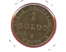 1867 - STATO PONTIFICIO -  1 SOLDO  PIO IX° - LOTTO/M31073