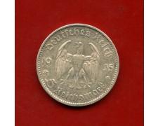 1935 - GERMANIA - 5 MARCHI ANNIVERSARIO ARGENTO - ZECCA E - LOTTO/M30506