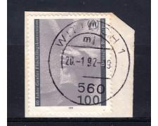 1991 - GERMANIA FEDERALE - 100p. CONVENZIONE RIFUGIATI - USATO - LOTTO/31248U
