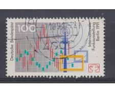 1991 - GERMANIA FEDERALE - 100p. SALONE DELLA RADIO - USATO - LOTTO/31249U