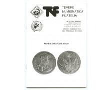 CATALOGO - MONETE DI NAPOLI E SICILIA - EDIZIONE TEVERE NUMISMATICA - LOTTO/32223