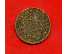 1875 - SAN MARINO - 10 CENTESIMI  RAME - LOTTO/M30515