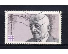 1991 - GERMANIA FEDERALE - LOTTO/31252U - VON THADDEN - USATO - LOTTO/31252U