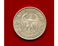 1934 - GERMANIA - 5 MARCHI ANNIVERSARIO 1933 ARGENTO - ZECCA D - LOTTO/M30494