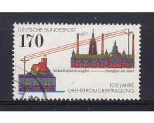 1991 - GERMANIA FEDERALE - 170p. LINEE ELETTRICHE - USATO - LOTTO/31253U