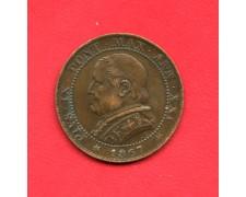 1867 - STATO PONTIFICIO - 1 SOLDO PAPA PIO IX° - LOTTO/M32393