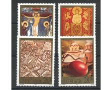 2002 - JUGOSLAVIA - PASQUA 4v. - NUOVI - LOTTO/35568