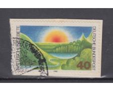 1980 - GERMANIA FEDERALE - PROTEZIONE AMBIENTE - USATO - LOTTO/31415U