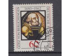 1980 - GERMANIA FEDERALE - VON BERLICHINGER - USATO - LOTTO/31418U