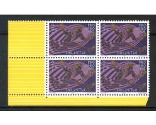 1981 - SVIZZERA - PRO AEREO - QUARTINA - NUOVI