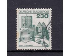 1978 - GERMANIA FEDERALE - 230p. CASTELLI E FORTEZZE - USATO - LOTTO/31432U