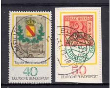 1978 - GERMANIA FEDERALE - GIORNATA FRANCOBOLLO 2v. - USATI - LOTTO/31433U