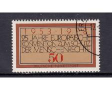 1978 - GERMANIA FEDERALE - DIRITTI UOMO - USATO - LOTTO/31434U