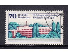 1978 - GERMANIA FEDERALE - UNIONE INTERPARLAMENTARE - USATO - LOTTO/31437U