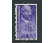 1949 - REPUBBLICA - 20 LIRE ANDREA PALLADIO - NUOVO - LOTTO/30368