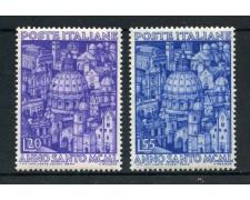 1950 - REPUBBLICA - ANNO SANTO 2v. - NUOVI - LOTTO/30374