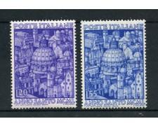 1950 - REPUBBLICA - ANNO SANTO 2v. - NUOVI - LOTTO/30374B