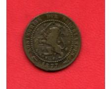 1877 - OLANDA - 1 CENTESIMO  BRONZO - LOTTO/M32341