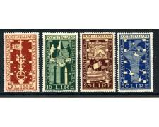 1949 - REPUBBLICA - BIENNALE DI VENEZIA 4v. NUOVI - LOTTO/30356