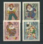 1970 - LOTTO/15538 - BERLINO - BENEFICENZA MARIONETTE 4v. - NUOVI