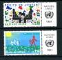 1991 - LOTTO/21442A - ONU SVIZZERA - DIRITTI DEL BAMBINO 2v. - NUOVI CON APP.