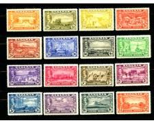 1948 - BAHAMAS - 3° CENTENARIO DELLO STATUTO DELLE COLONIE 16V.- NUOVI - LOTTO/25004