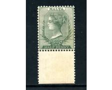 1885  MALTA - 1/2 PENCE VERDE - NUOVO - LOTTO/25020